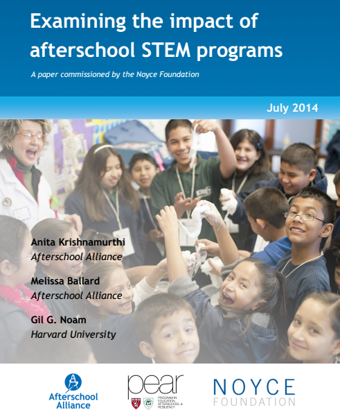 Stem School Program: New Paper: What Are The Impacts Of Afterschool STEM?